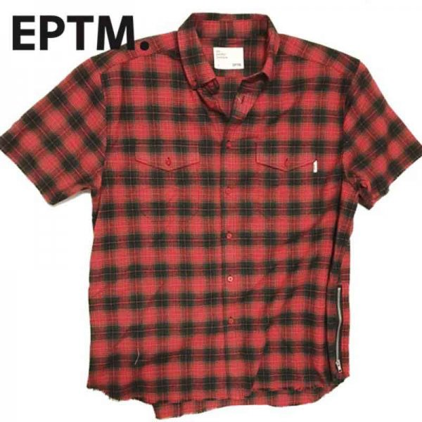 EPTM / S/S SIDE ZIP FLANNEL