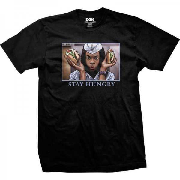 DGK / STAY HUNGRY TEE