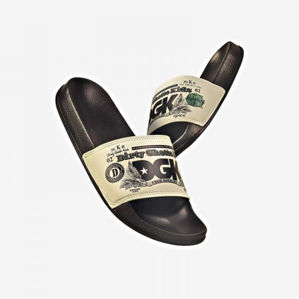 DGK / CURRENCY SLIDE SANDALS