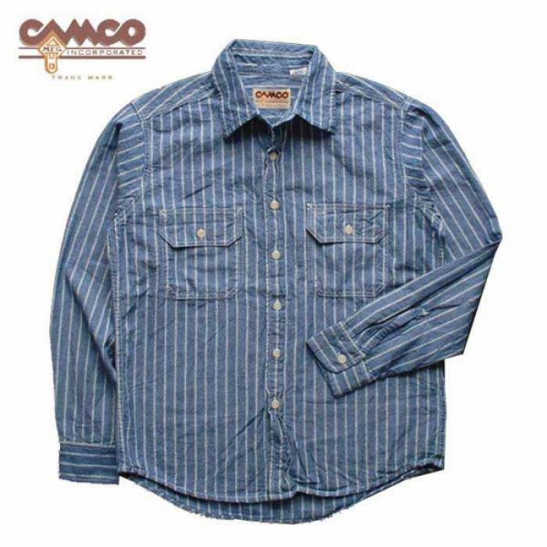 <img class='new_mark_img1' src='//img.shop-pro.jp/img/new/icons2.gif' style='border:none;display:inline;margin:0px;padding:0px;width:auto;' />CAMCO / CHAMBRAY WORK SHIRTS