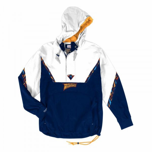 <img class='new_mark_img1' src='//img.shop-pro.jp/img/new/icons3.gif' style='border:none;display:inline;margin:0px;padding:0px;width:auto;' />MITCHELL & NESS / Half Zip Anorak Golden State Warriors