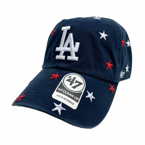 <img class='new_mark_img1' src='//img.shop-pro.jp/img/new/icons9.gif' style='border:none;display:inline;margin:0px;padding:0px;width:auto;' />47 BRAND / Dodgers Confetti '47 CLEAN UP Navy