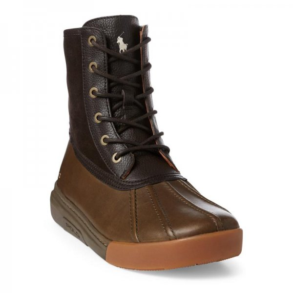 <img class='new_mark_img1' src='//img.shop-pro.jp/img/new/icons14.gif' style='border:none;display:inline;margin:0px;padding:0px;width:auto;' />POLO RALPH LAUREN / Declan Leather Duck Boot