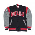 MITCHELL & NESS / CHICAGO BULLS ROLE PLAYER FLEECE JACKET