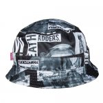 MISHKA(ミシカ) / RADIOACTIVE BLOCK BUCKET HAT