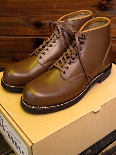 """TROPHY CLOTHING/トロフィークロージング """"TANKER BOOTS"""" タンカーブーツ -BROWN-"""
