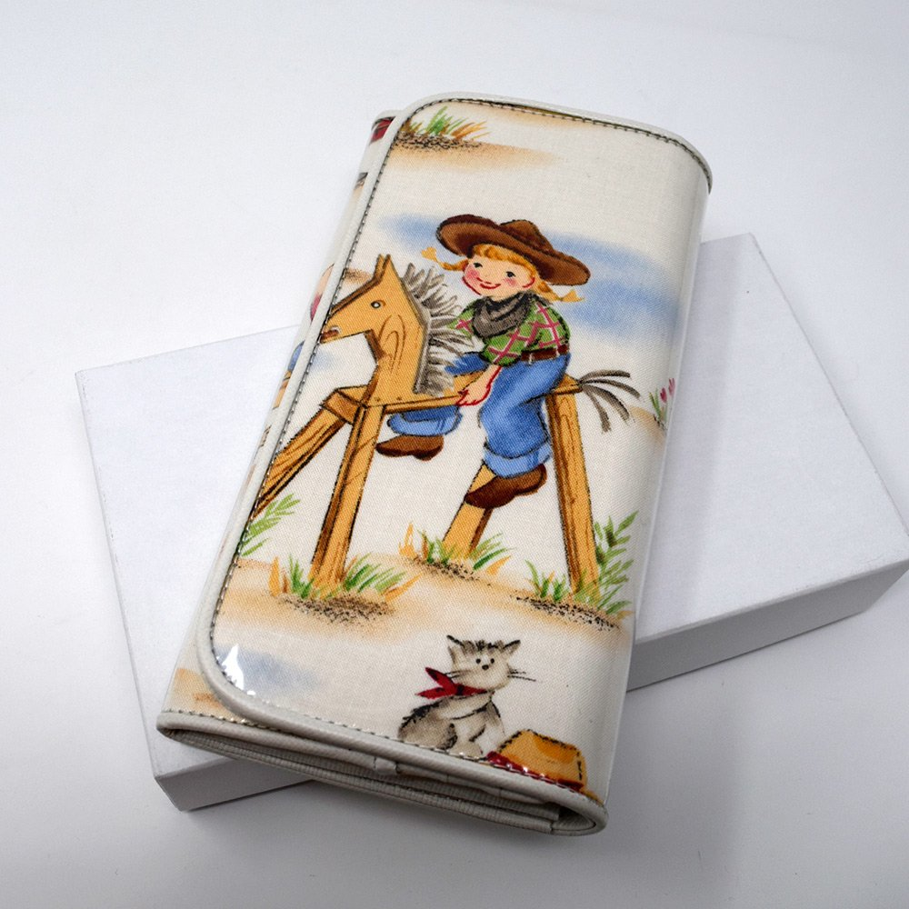 HANA TO GUITAR / LONG WALLET -COW GIRL-