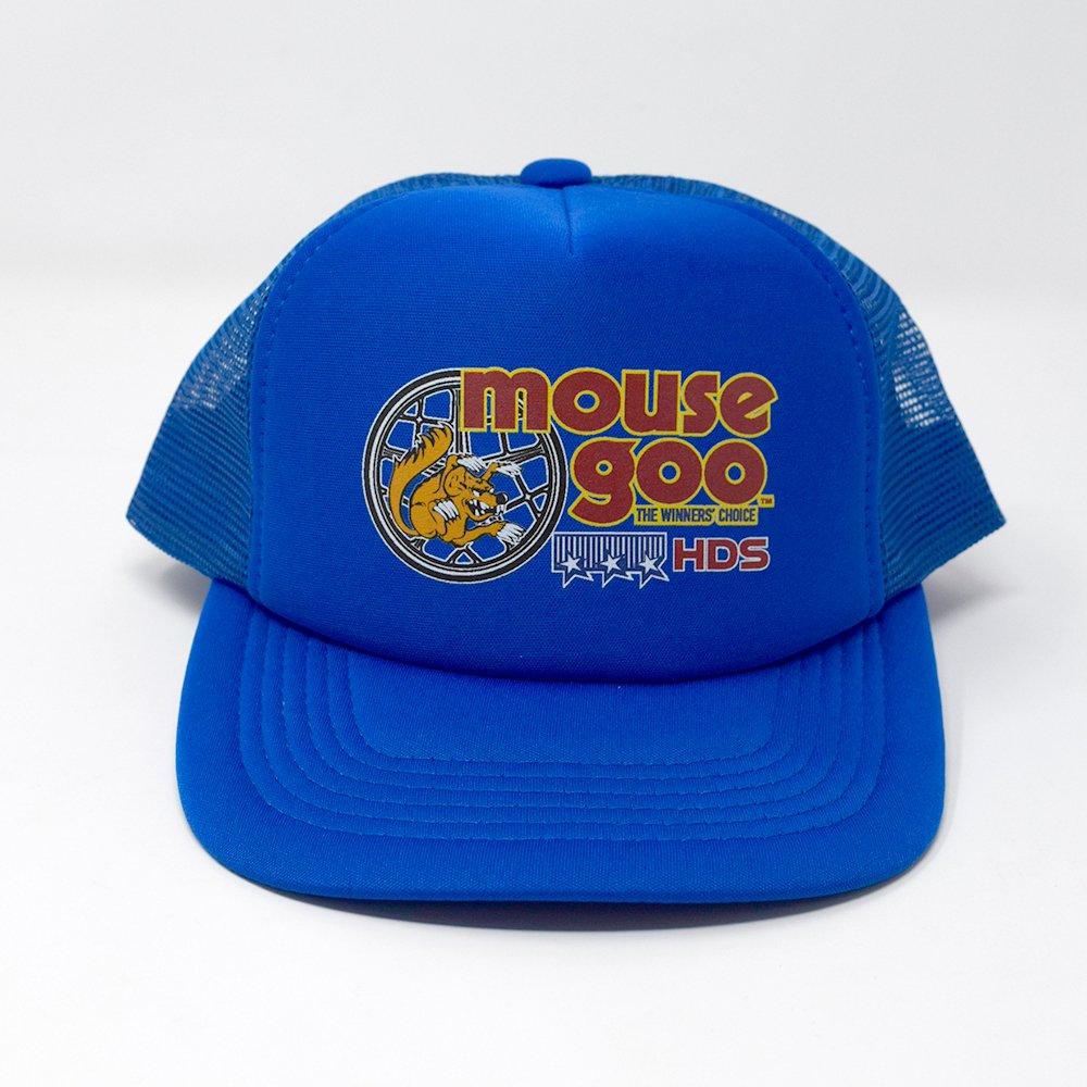 HI-DEE'S / OLD SCHOOL RIDER MESH CAP - Blue-