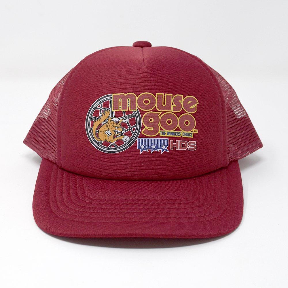 HI-DEE'S / OLD SCHOOL RIDER MESH CAP -Maroon-
