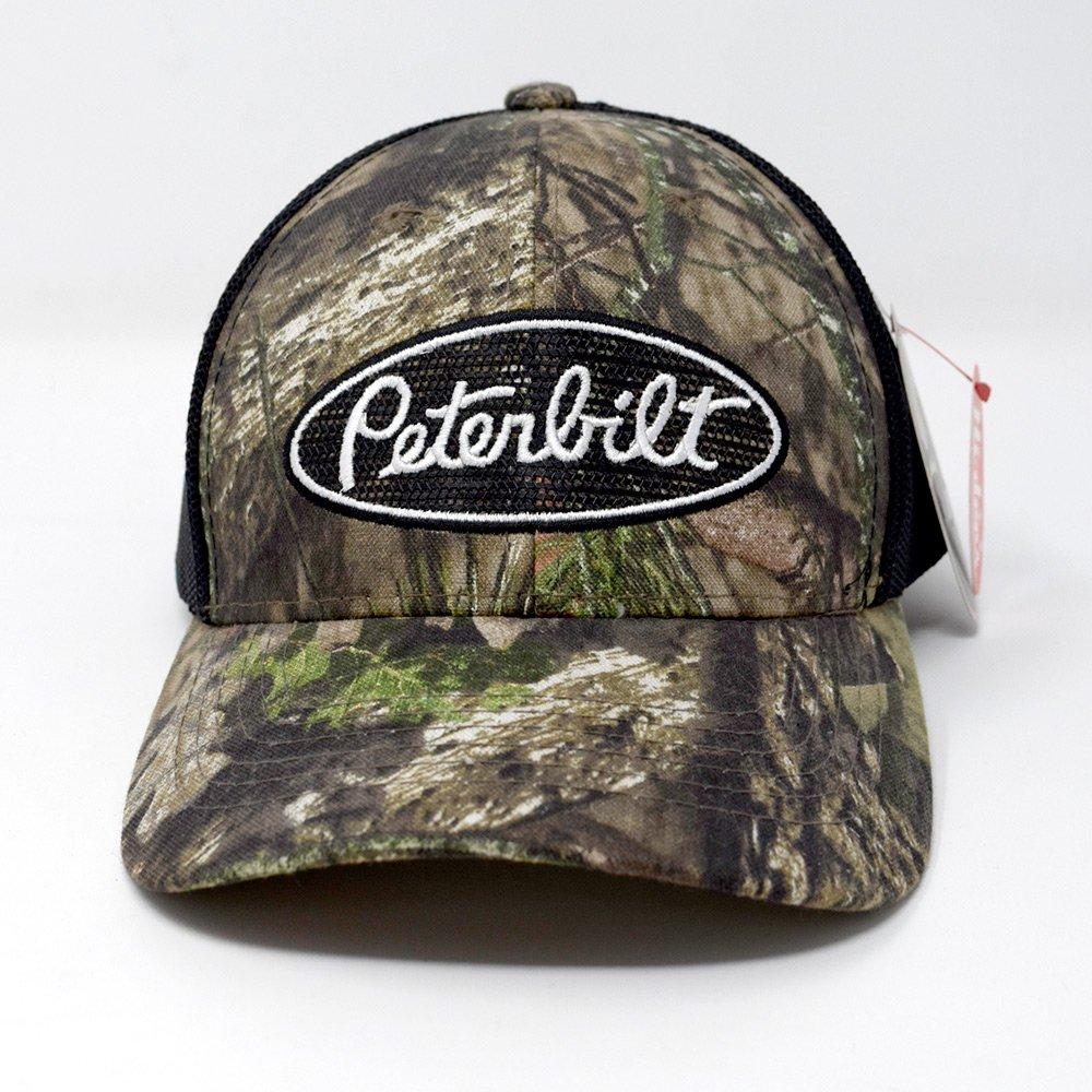 PETERBILT / MESH BACK CAMO CAP