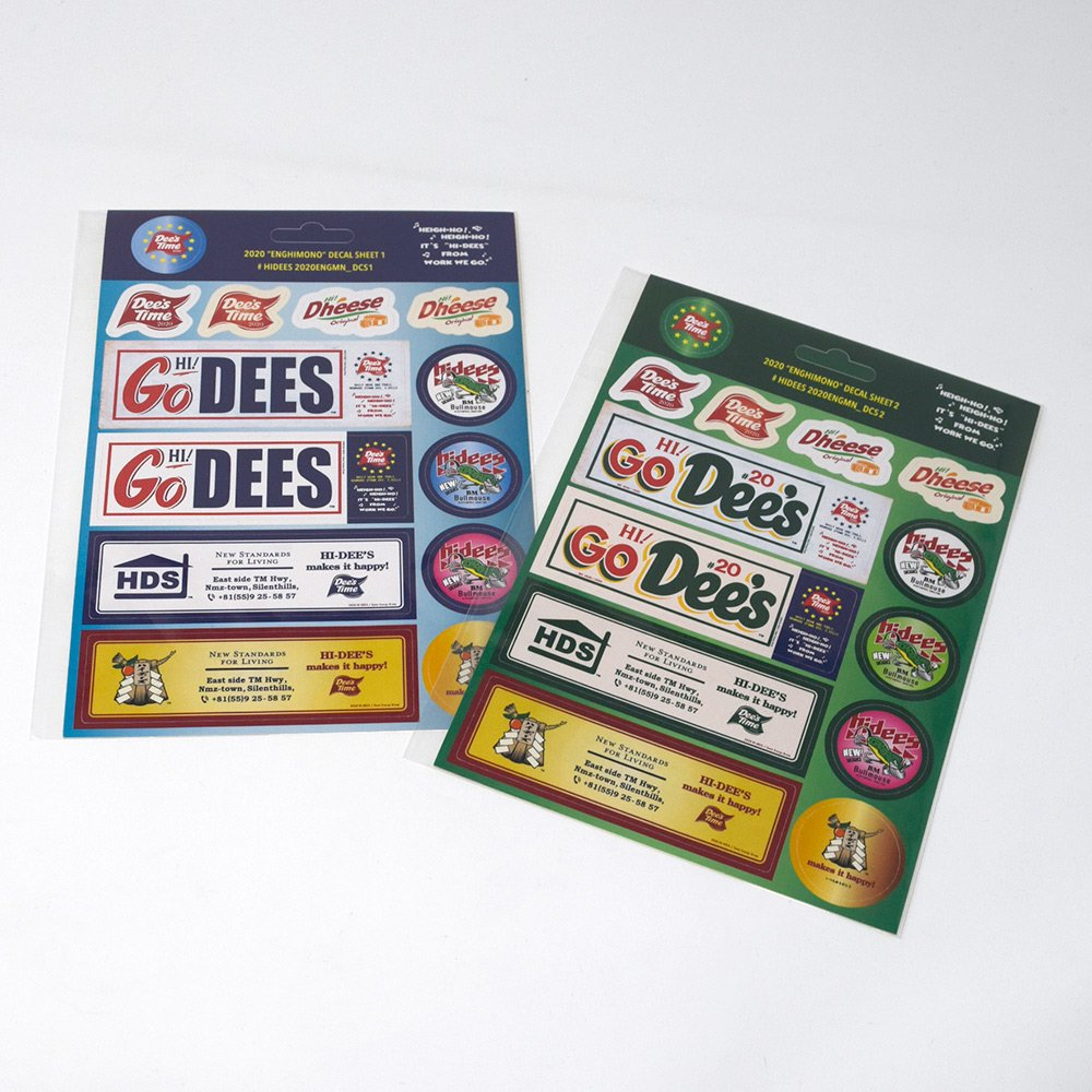 HI-DEE'S / Poppin Sticker Sheet