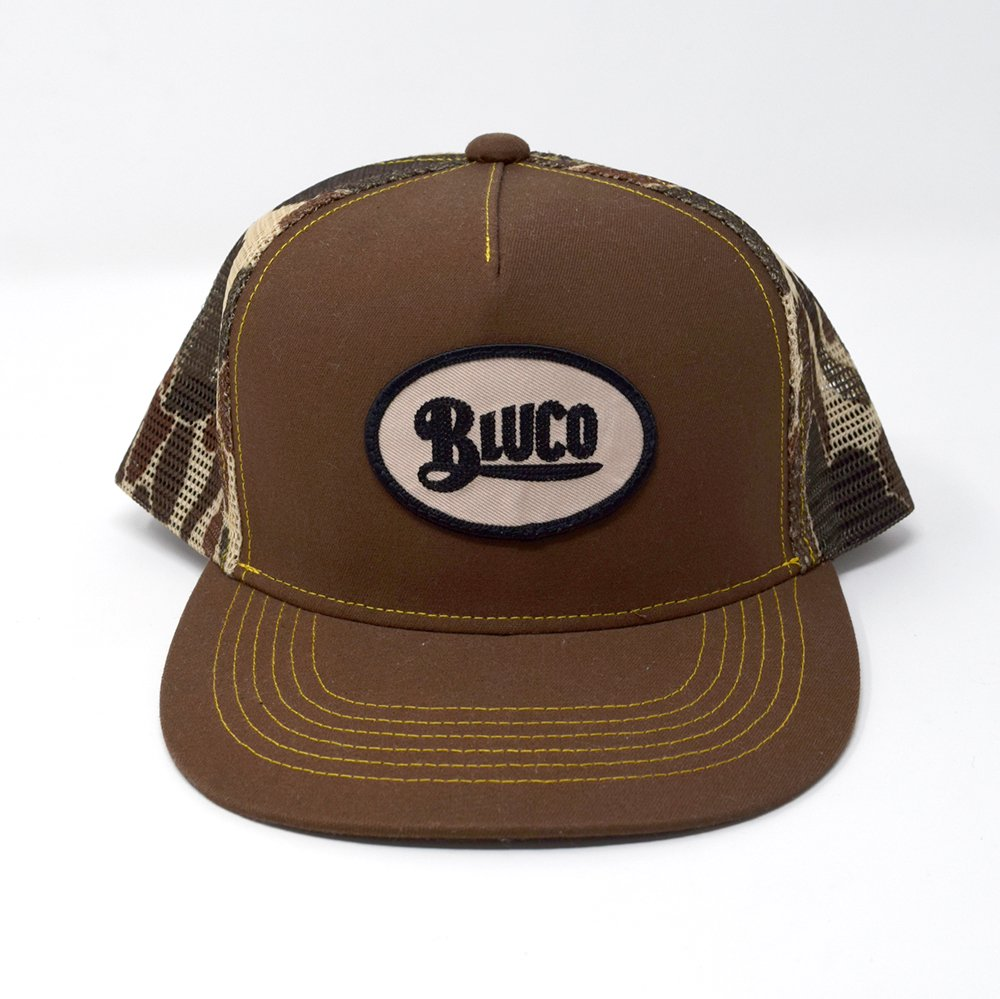 BLUCO / OVAL PATCH CAMO MESH CAP