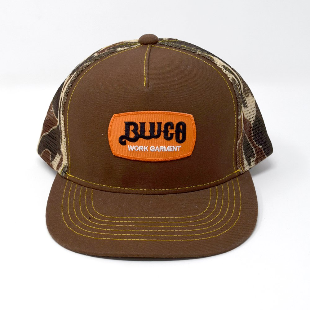 BLUCO / SIGN PATCH CAMO MESH CAP