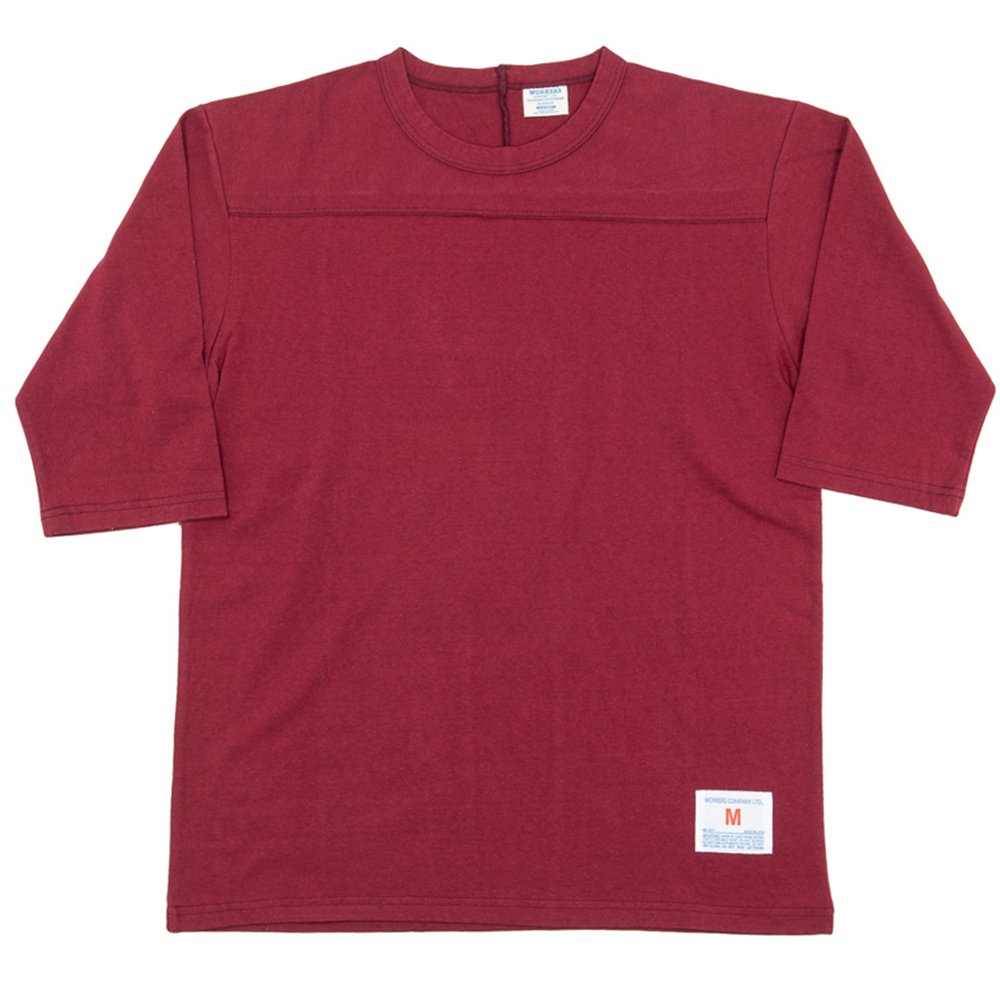 WORKERS K&TH /  Football-T, Burgundy