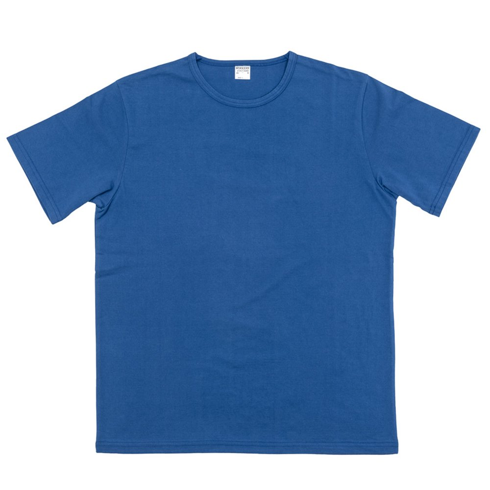WORKERS K&TH /  3-PLY-T, Crew -BLUE-