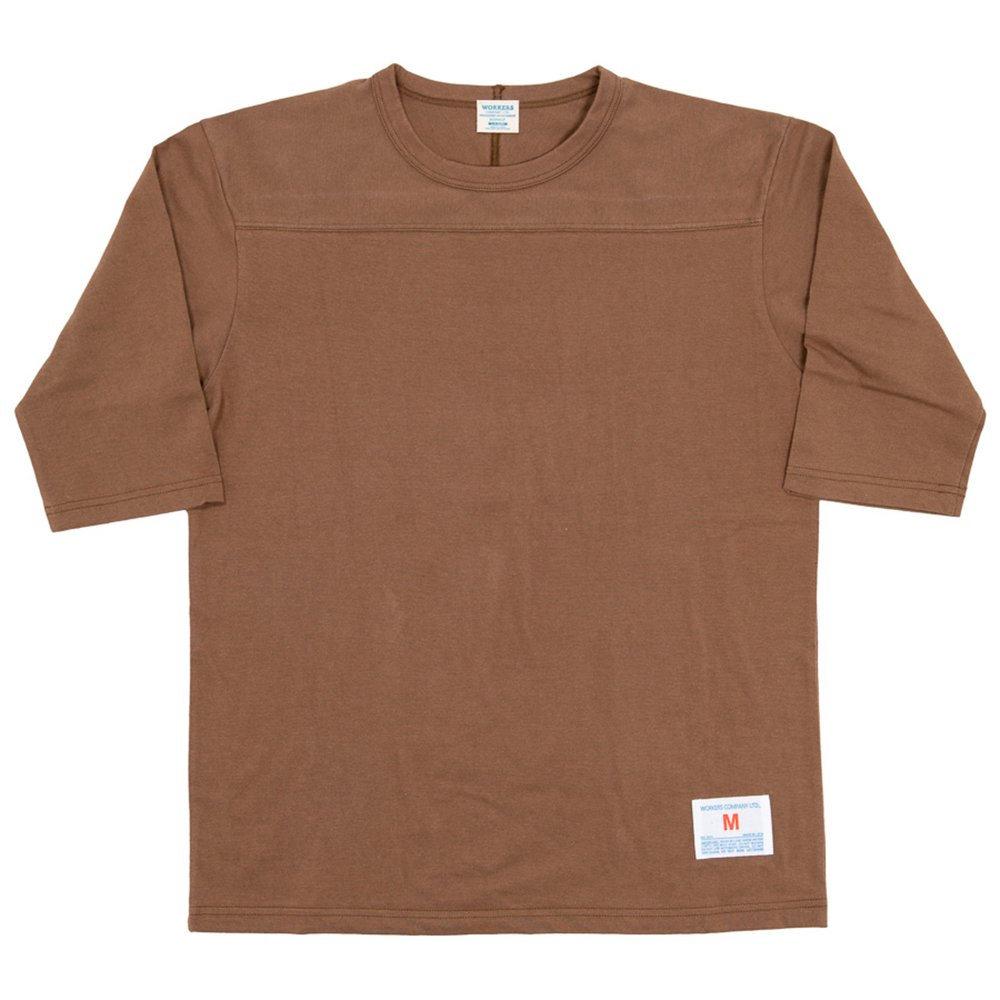 WORKERS K&TH /  Football T, Plain, Coyote