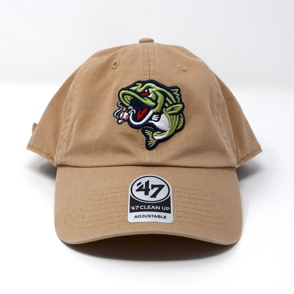 47 BRAND /  Gwinnett Stripers Clean Up Cap -Beige-