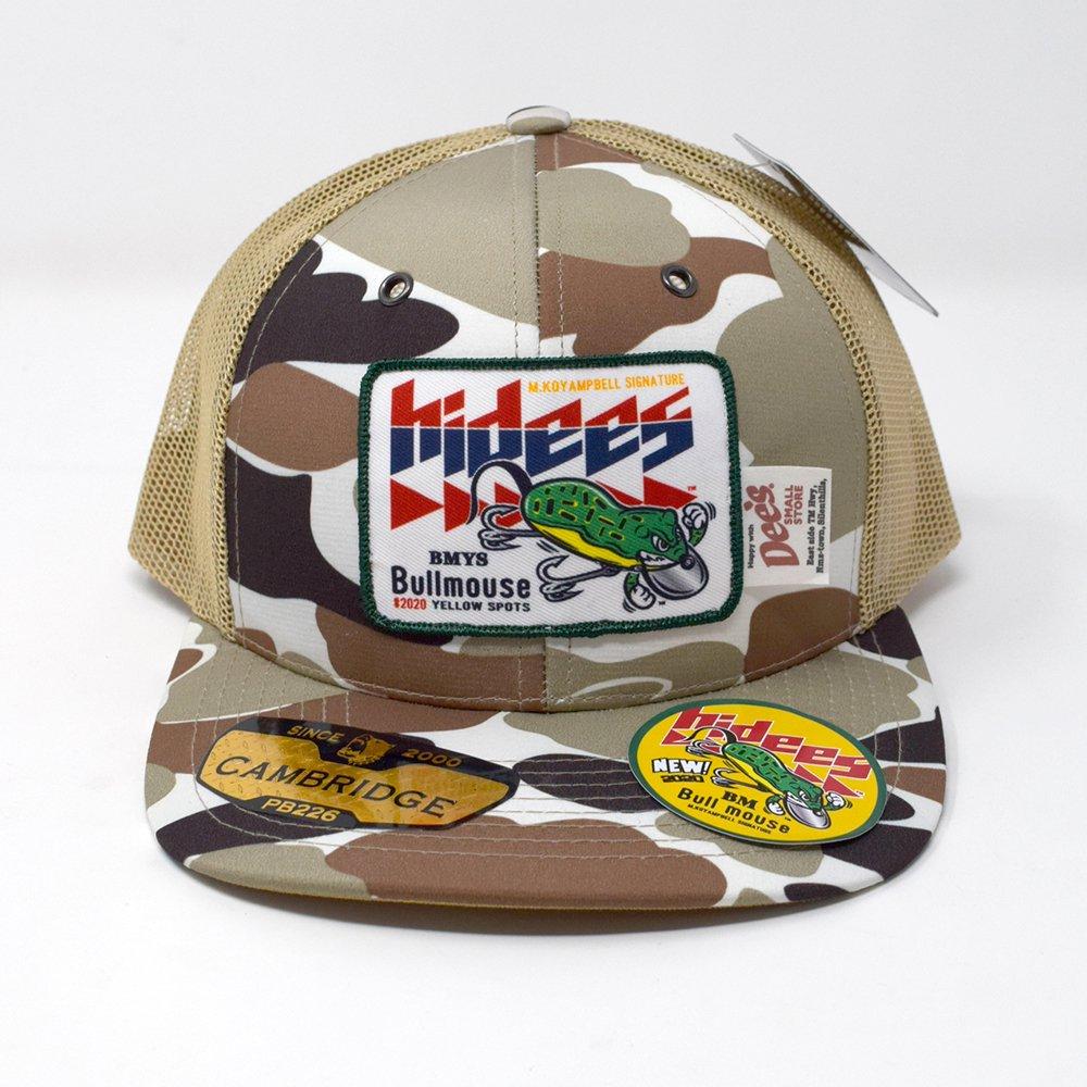 HI-DEE'S / BULL MOUSE Mesh Cap  -CAMO-