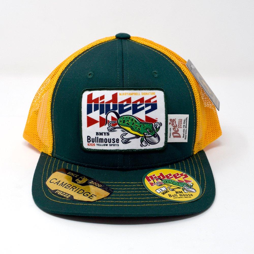 HI-DEE'S / BULL MOUSE Mesh Cap  -GREEN-