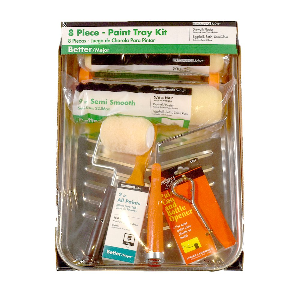 Home Depot / 8-Piece Paint Tray Kit