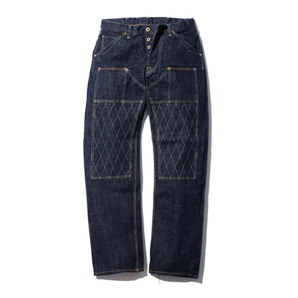 TROPHY CLOTHING / 1606 W KNEE STANDARD DIRT DENIM