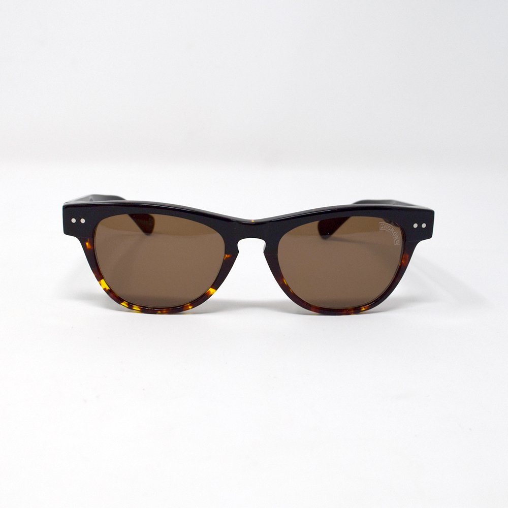 UNCROWD / UC-008 SUNNY -Black.Tortoise/Brown-