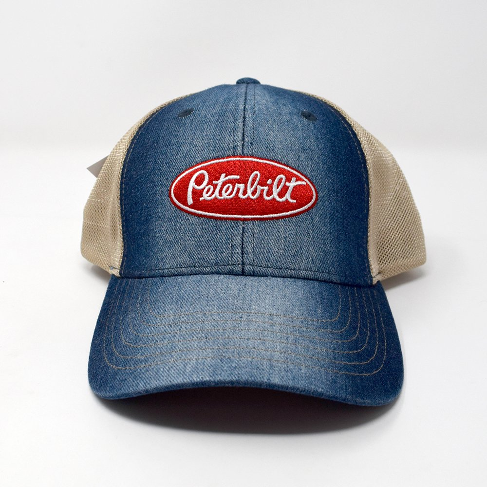 PETERBILT / DENIM MESH HAT