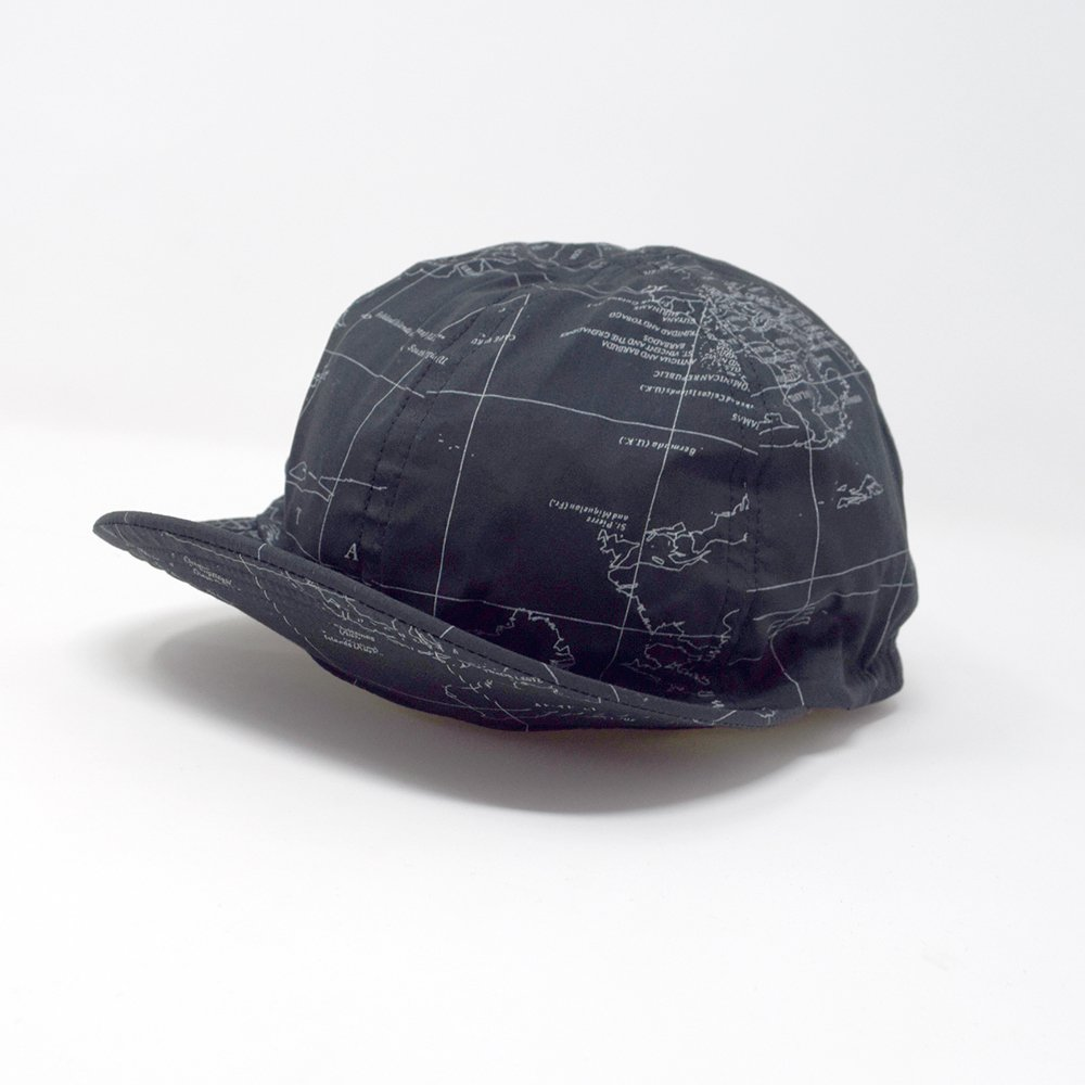 ANDFAMILY'S/  MAP CAP,BKMAP