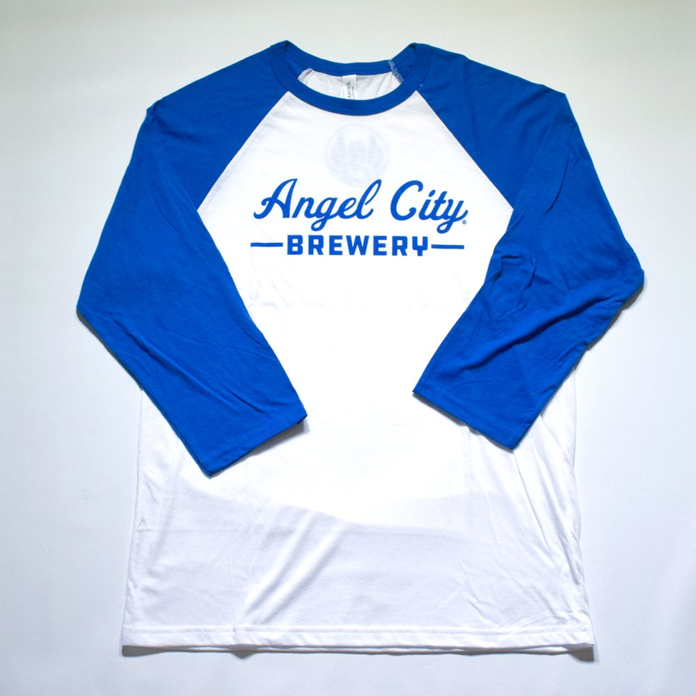 Angel City Brewery / Baseball Raglan