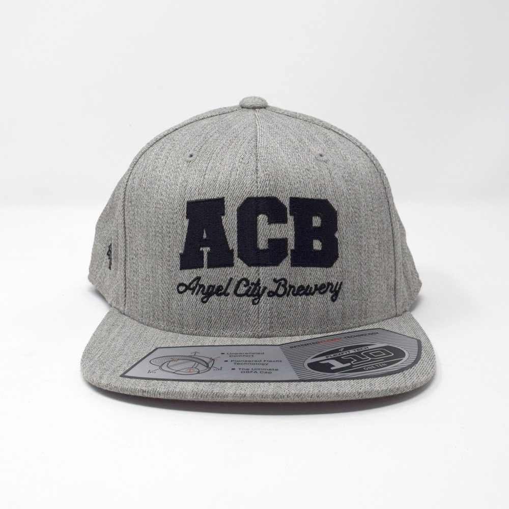 Angel City Brewery / Grey Flat Brim Hat