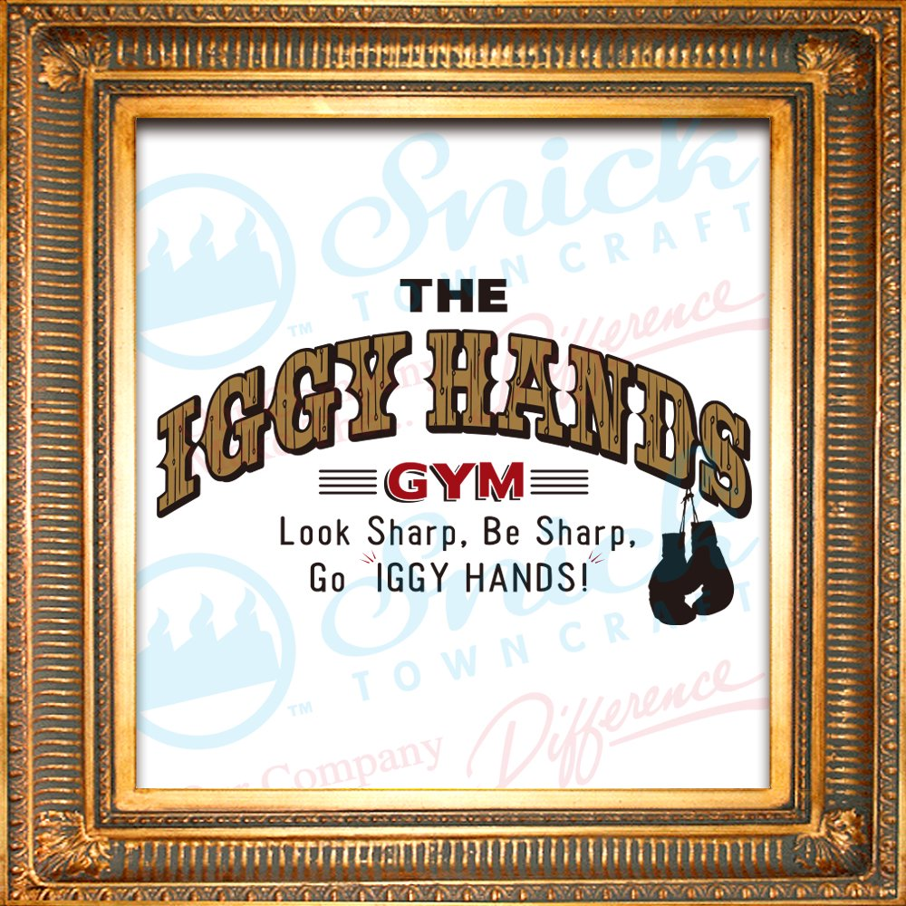 Iggy Hands Gym