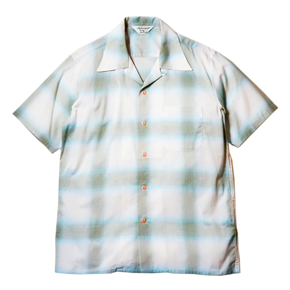 ANDFAMILY'S/  Natural Ombre Check Shirt