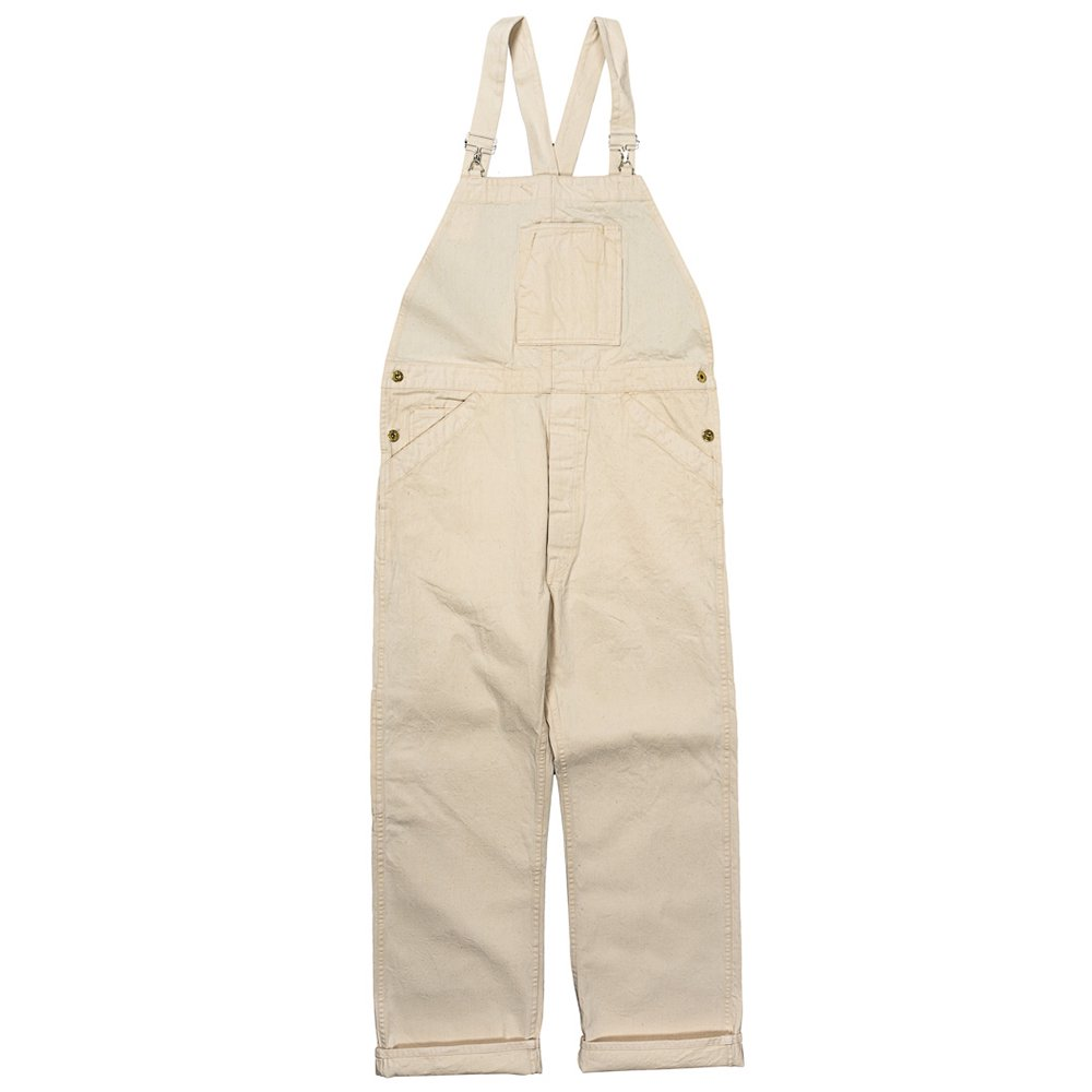 WORKERS K&TH /  Queen of the road, Overall, 10.5 oz Right Hand White Denim, OW
