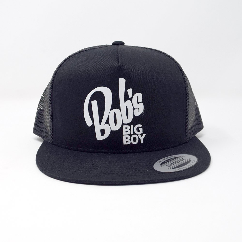 BOB'S BIG BOY / Black Trucker Hat