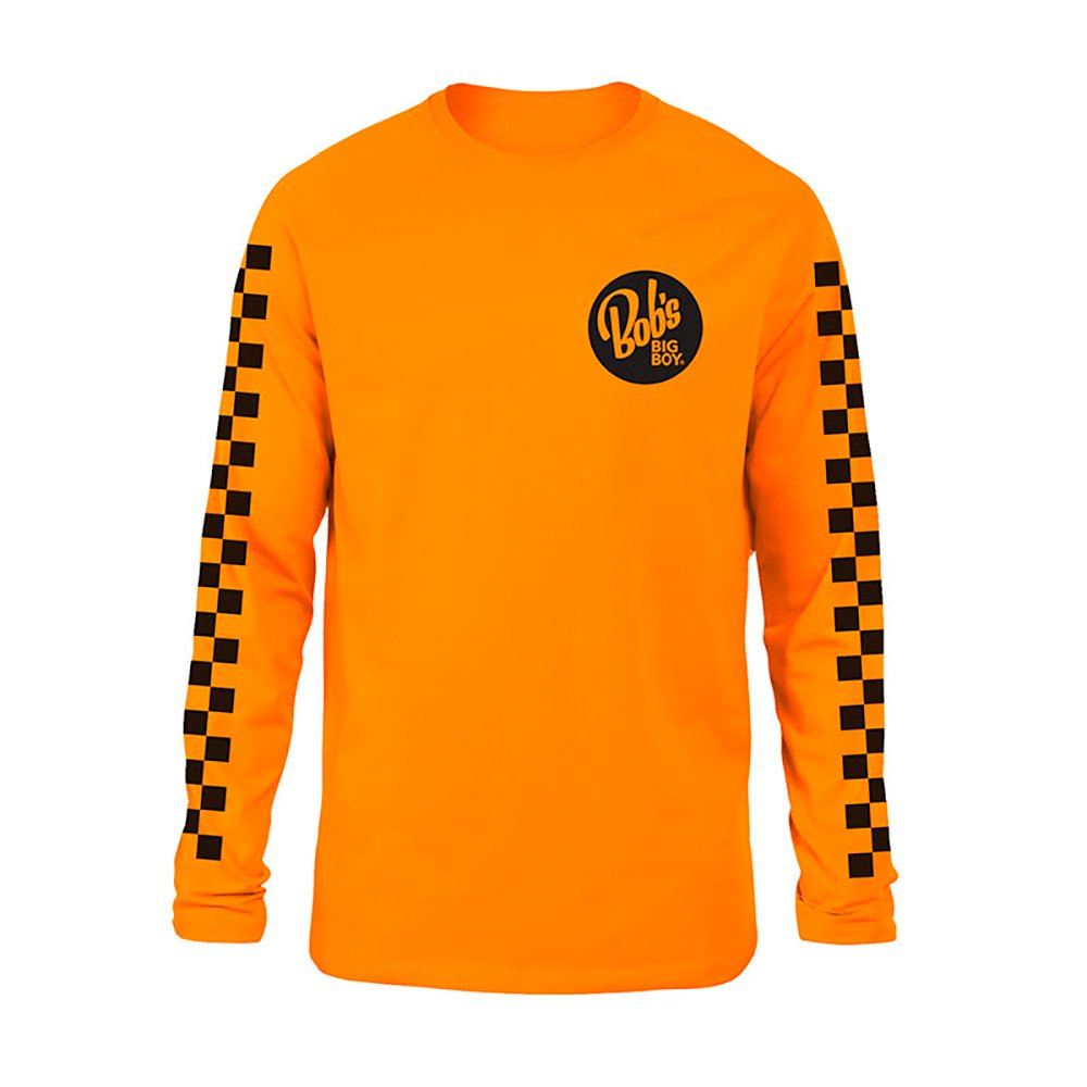 BOB'S BIG BOY / Caltrans Longsleeve,ORANGE