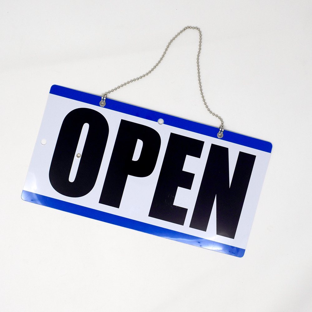 Eagle Open and Closed Sign