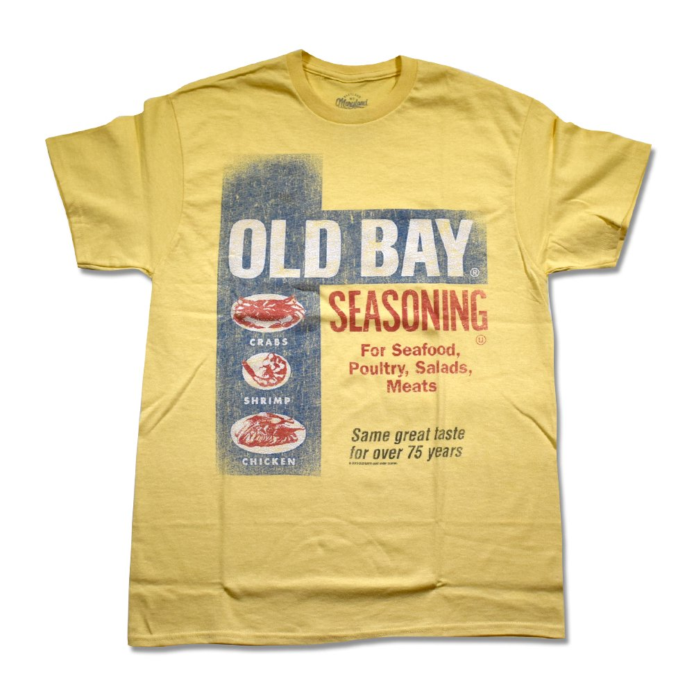 McCormick / Old Bay Washed Can Art T-Shirt