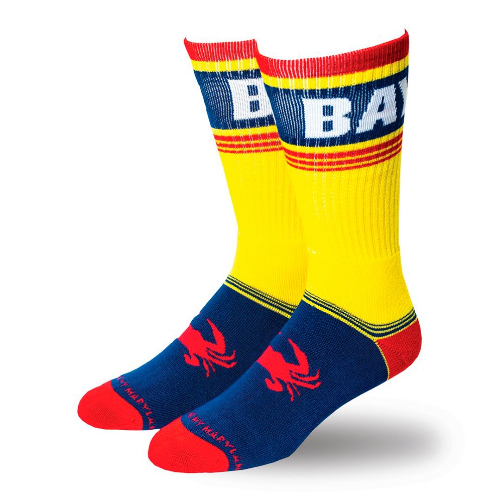 McCormick / Old Bay Crab Foot Crew Socks