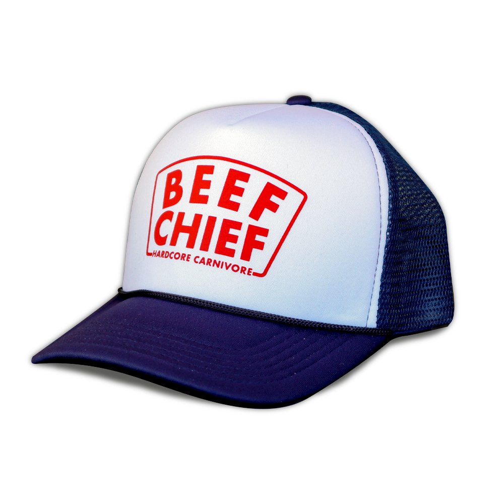 HARD CORE CARNIVORE / Beef Chief foam trucker mesh back cap