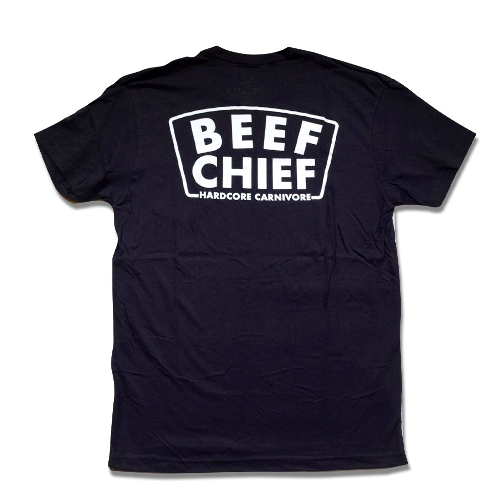 HARD CORE CARNIVORE / Beef Chief Tee, Black