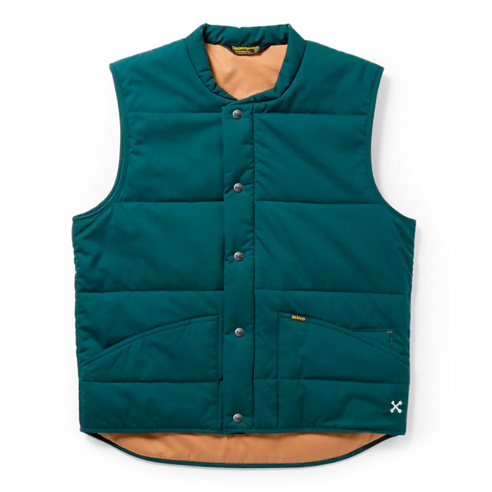 BLUCO WORK GARMENT /    [OL-059-020] QUILTING VEST,Green