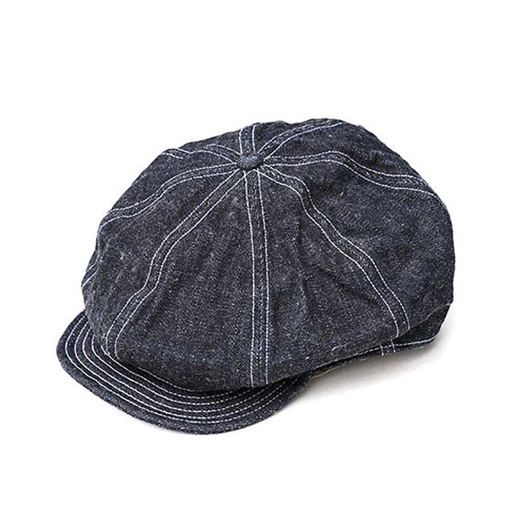 TROPHY CLOTHING / DIRT DENIM NEWSBOY CAP ダートデニム ニュースボーイキャップ