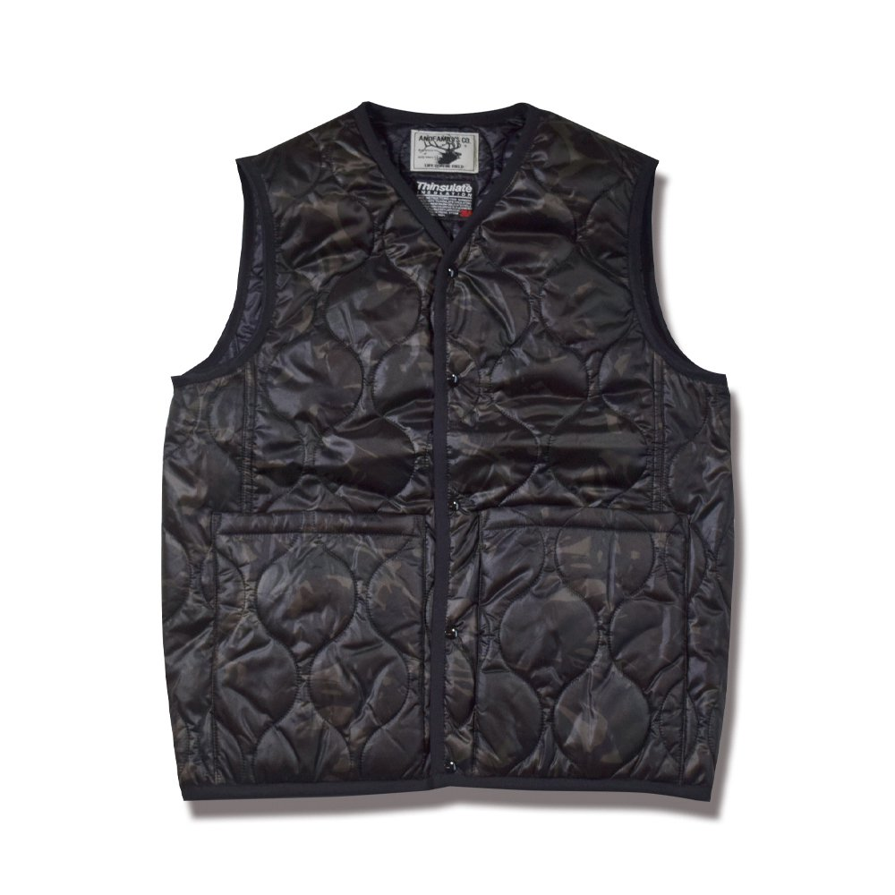 ANDFAMILY'S/アンドファミリーズ Quilting Reversible Vest -BCM-