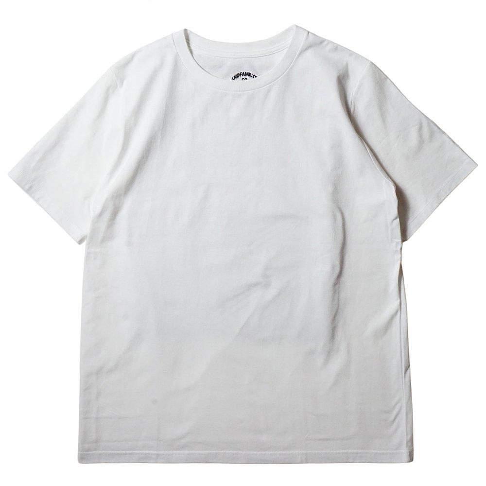 ANDFAMILY'S アンドファミリーズ/ Plain Standard S/S T-Shirt