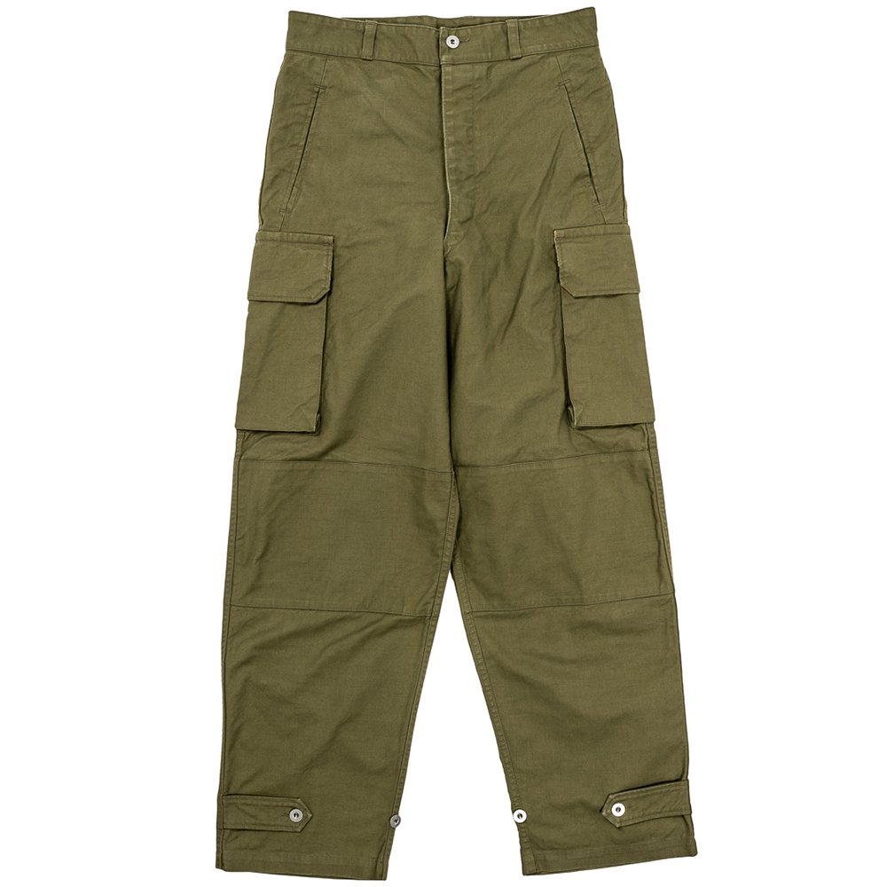 WORKERS K&TH /  French Cargo Pants, OD Kersey フレンチカーゴパンツ