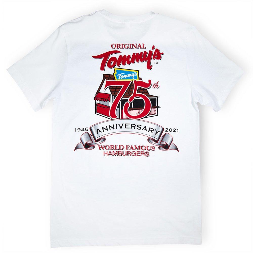 Original Tommy's /  75th Anniversary White T-Shirt