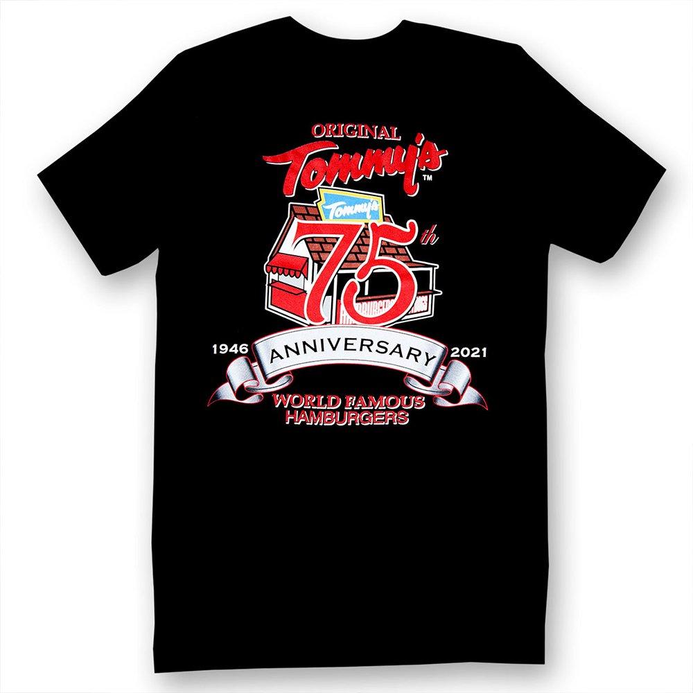 Original Tommy's /  75th Anniversary Black T-Shirt