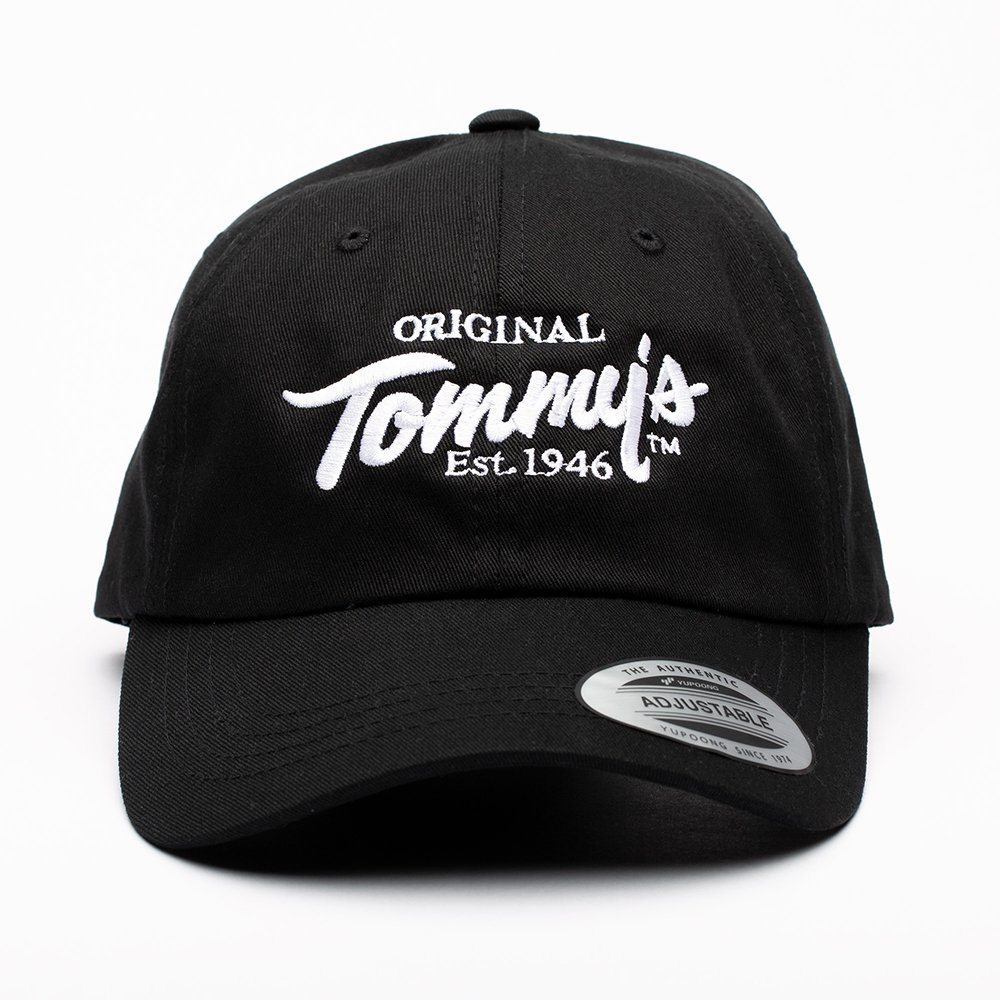 Original Tommy's /  Baseball Hat, Black