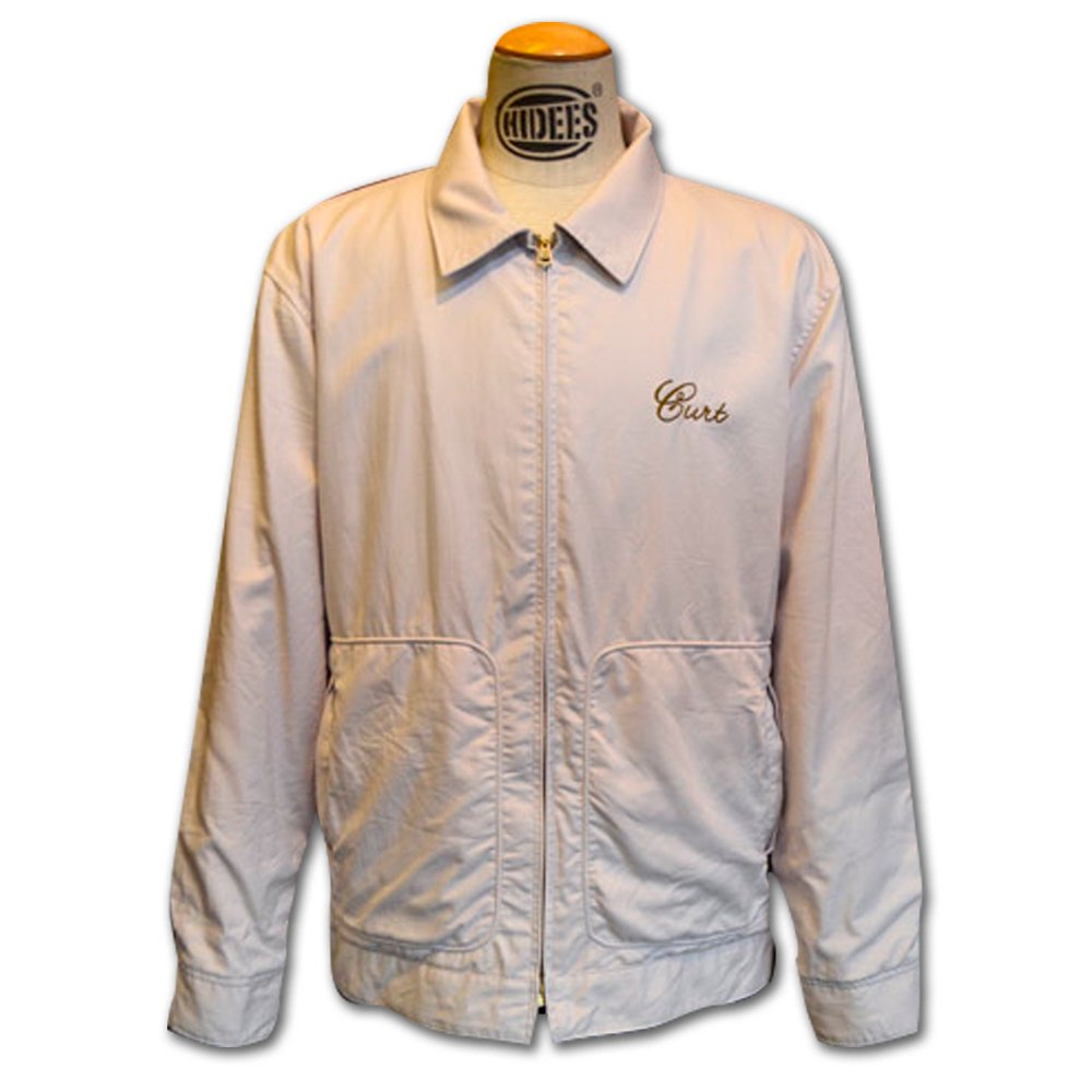ANDFAMILY'S/ A.F DRIZZLER JACKET , BEIGE PINK