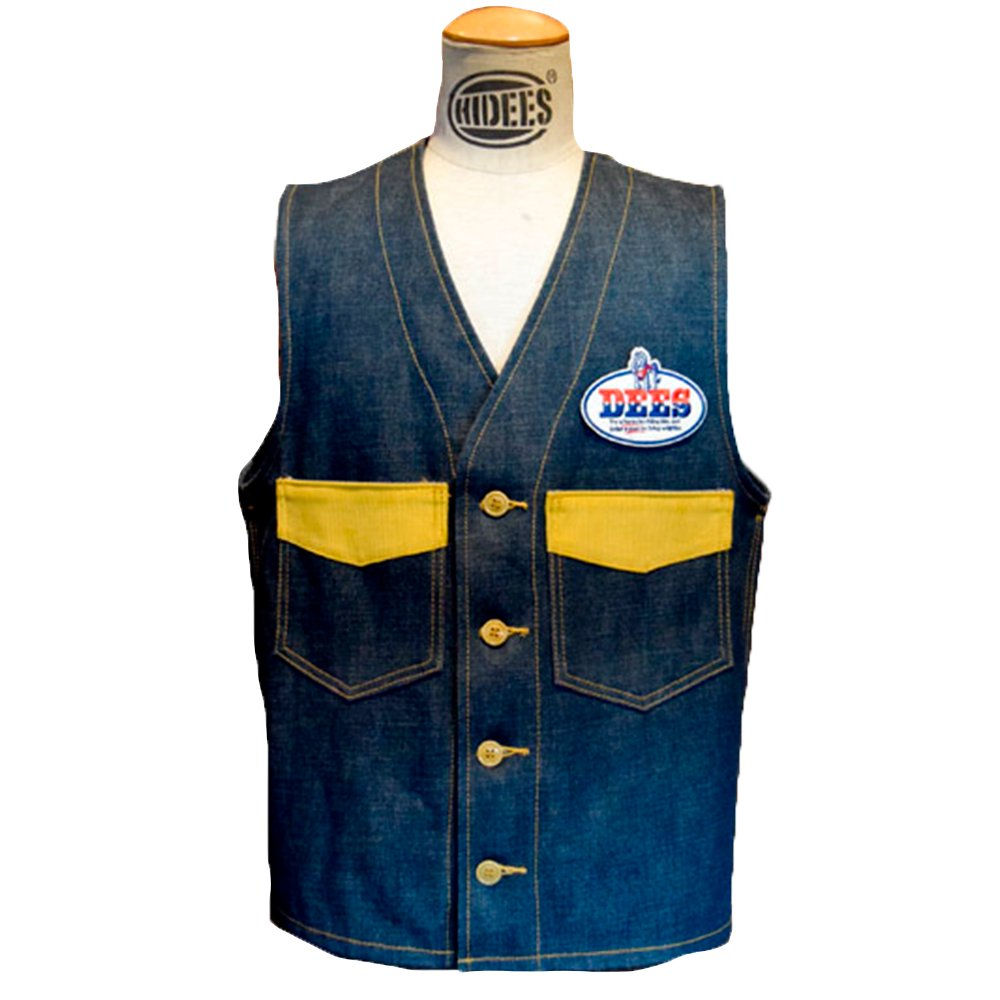 ANDFAMILY/ BUSH VEST -DENIM-